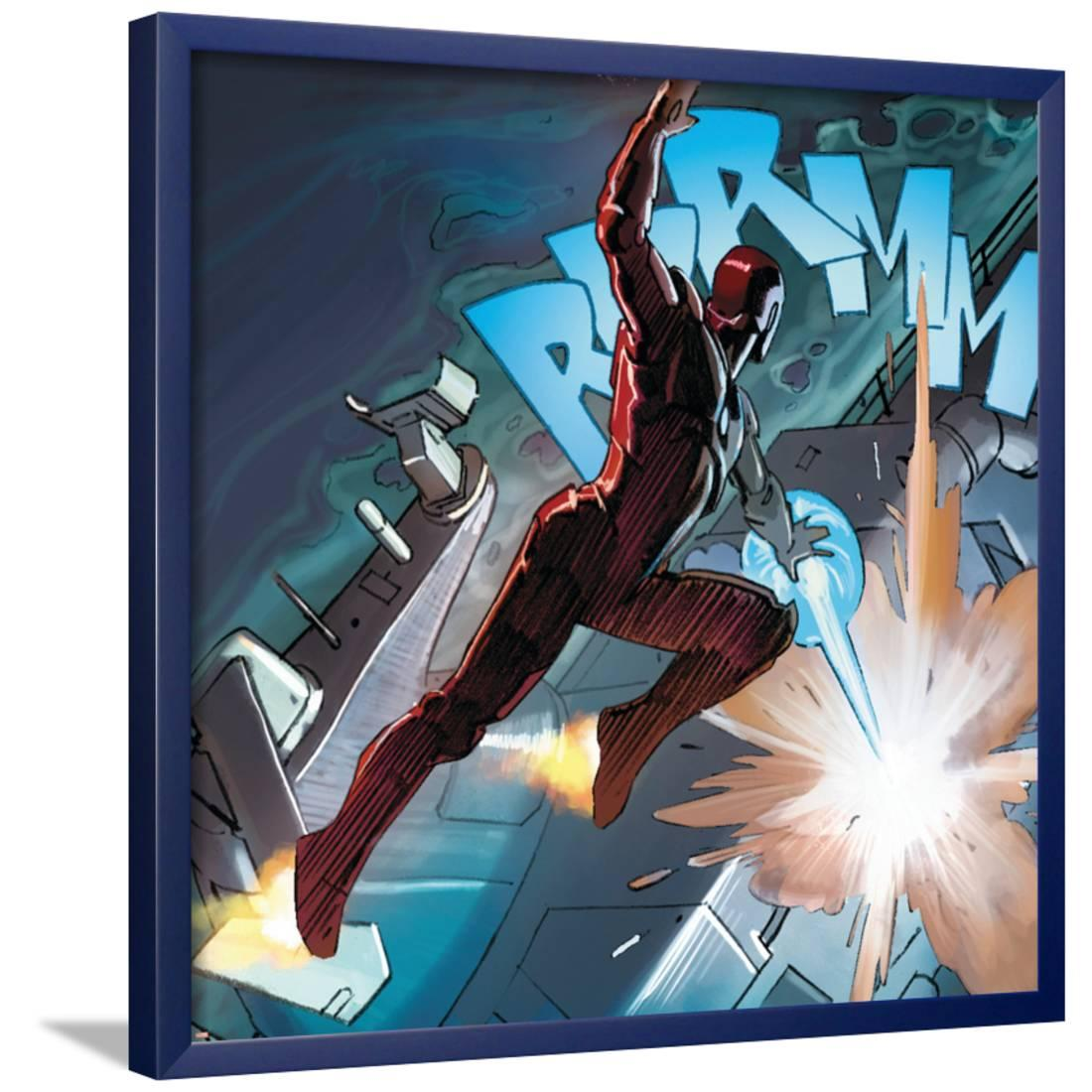 Avengers Assemble Style Guide: Iron Man Framed Poster Wall Art