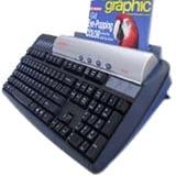 Keyscan KS810P Keyscan KS810-P Imaging Keyboard Scanner with USB 2.0 Hub - 600 dpi Optical - 48-bit Color - 16-bit Grayscale - USB