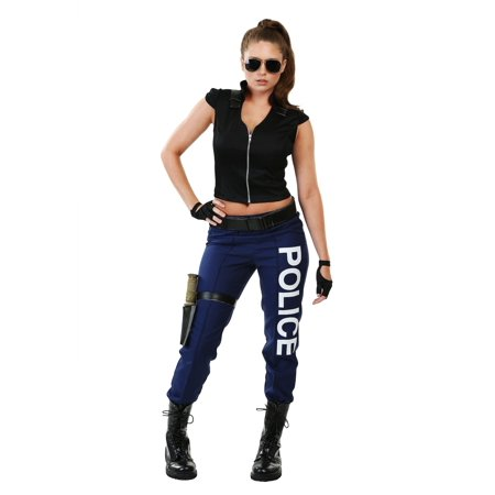 Women's Tactical Police Costume for $<!---->