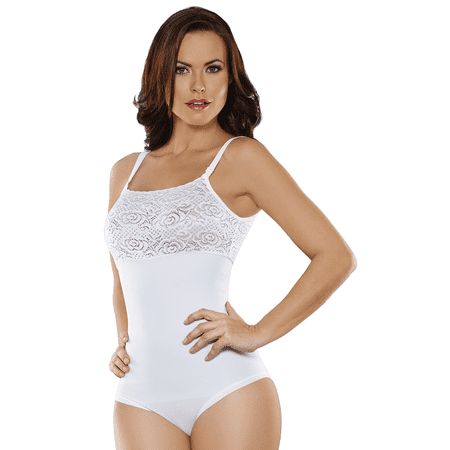 195eec83b1099 ShapEager - Valentine s Day Deal! Women s Shapewear Lace Reducer Body Shaper  Thong Fajas Reductoras Colombianas Bodysuit - Walmart.com