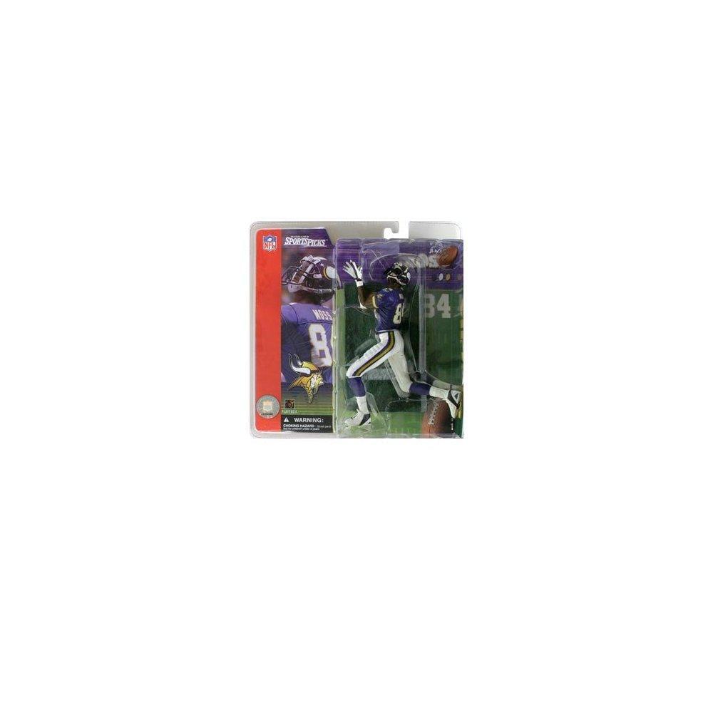 Mcfarlane football series 1: randy moss with purple jersey