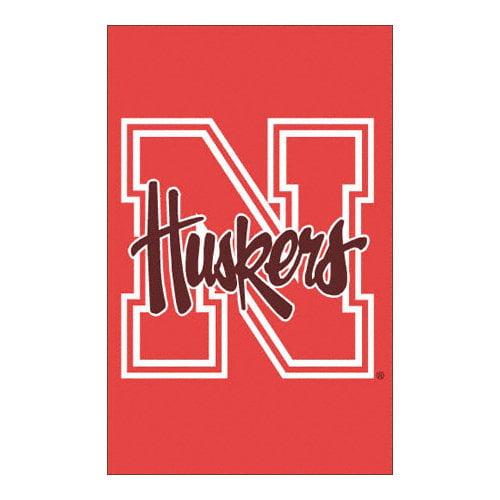 NCAA - Nebraska Cornhuskers 2-Sided Applique Banner Flag