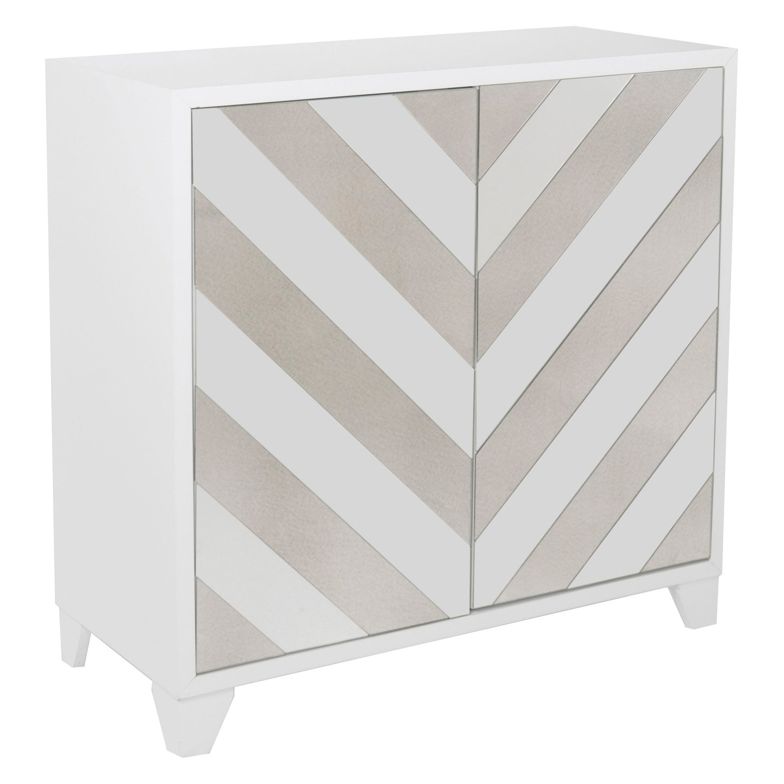 Contrast Mirror Accent Chest