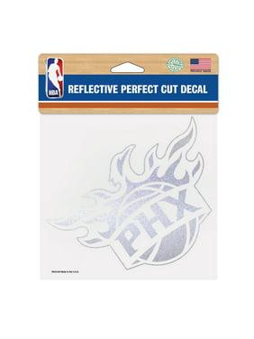 "Phoenix Suns WinCraft 6"" x 6"" Reflective Perfect Cut Decal"