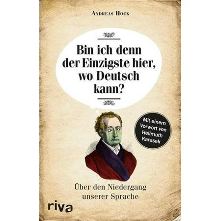 Bin ich denn der Einzigste hier, wo Deutsch kann? - eBook (Wo Kann Ich Kaufen Fashion Brille)