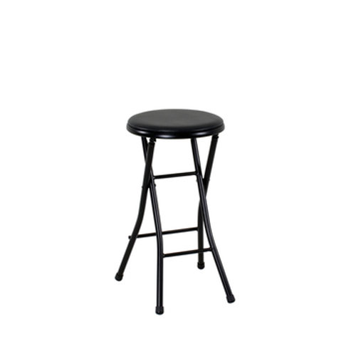 Mainstays Folding Metal Stool Black  sc 1 st  Walmart & Mainstays Folding Metal Stool Black - Walmart.com islam-shia.org