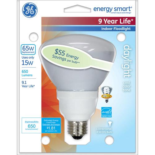Ge Lighting 78950 Ge R30 Cfl Floodlight Light Bulb