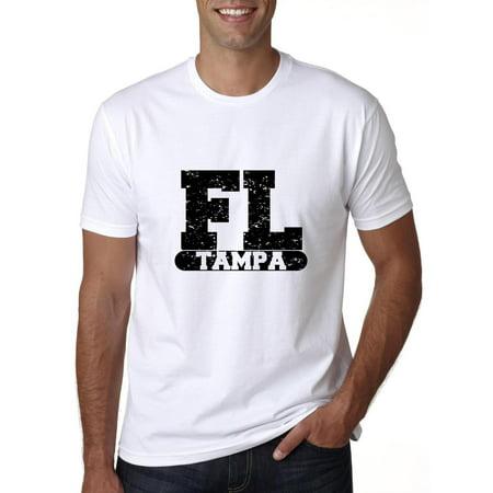 Tampa, Florida FL Classic City State Sign Men's T-Shirt