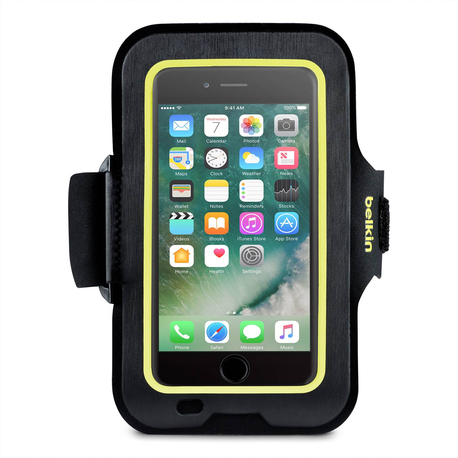 Belkin Sportfit Armband for iPhone 8, 7, 6, Black