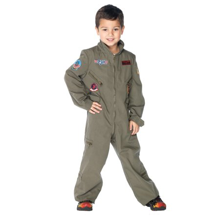 Top Gun Flight Suit Chld Small