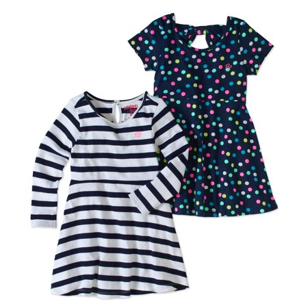 afb2d62b3c08 Toddler Girls  Long and Short Sleeve Knit Dress