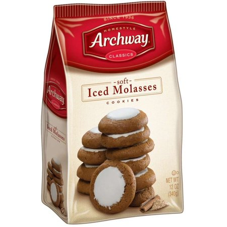 Archway Classics Cookies  Iced Molasses  12 Oz