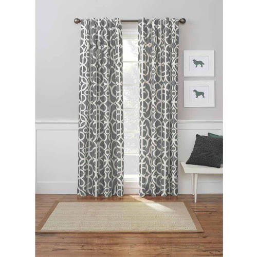 better homes and gardens marissa curtain panel  walmart,