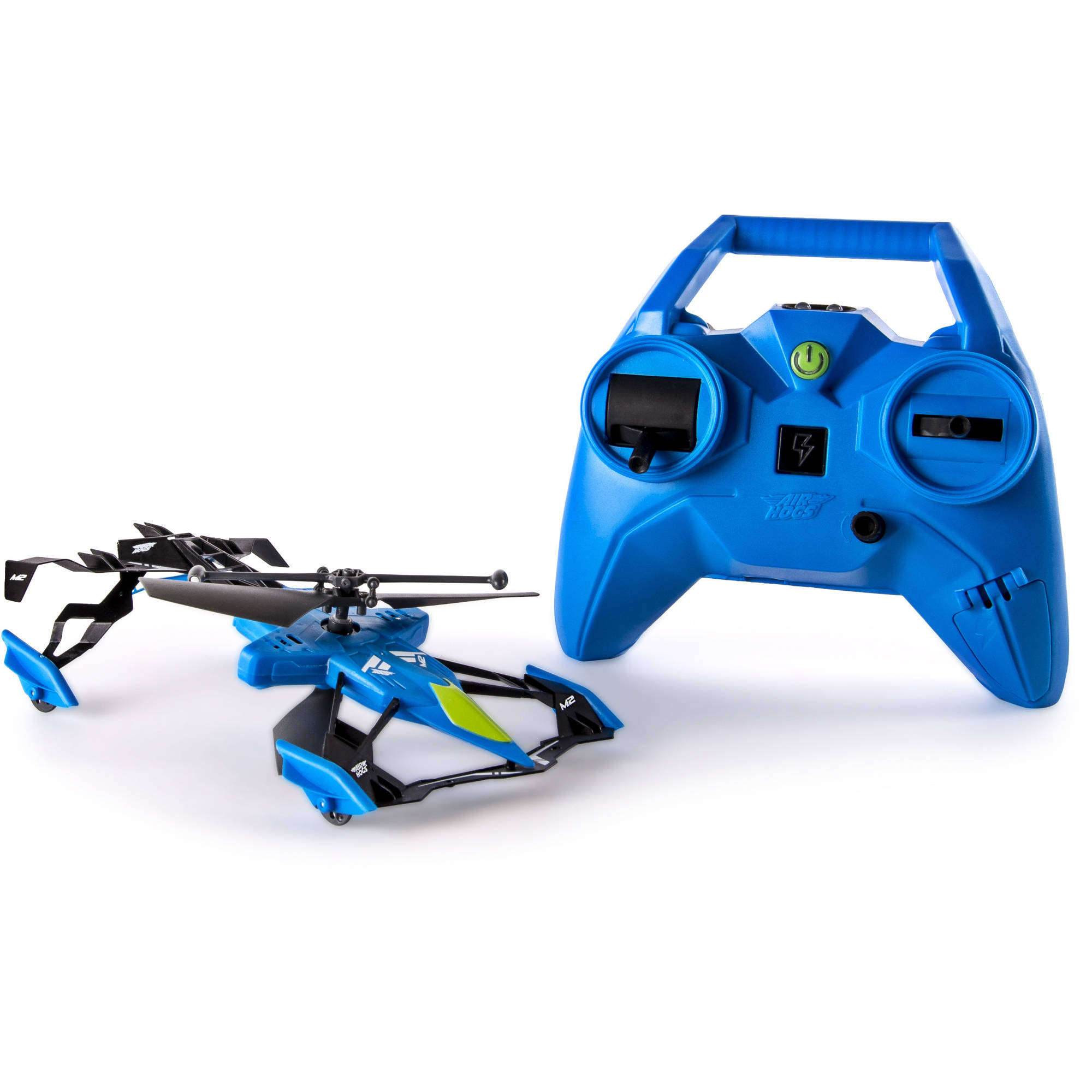 Air Hogs Switchblade Ground and Air Race RC Heli, Blue