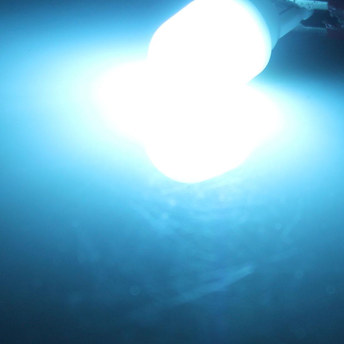 4Pcs T10 Ampoule Bleue Froide 2-LED Voiture Instrument Panneau Lampe 12V 1W Intérieur - image 1 de 2