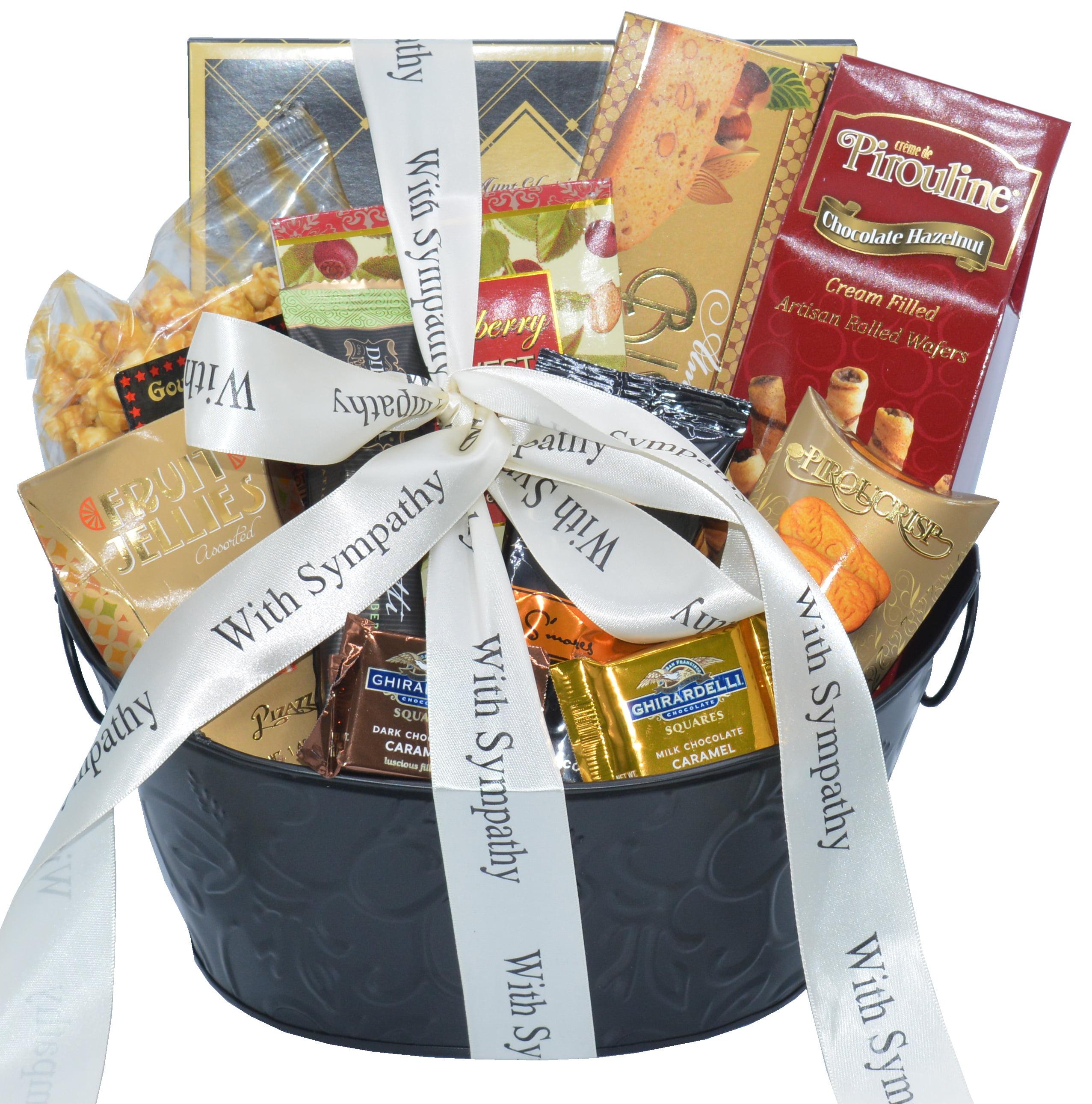 Sincere Sympathy and Condolences Gourmet Gift Basket