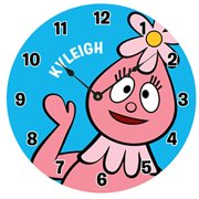 Personalized Yo Gabba Gabba! Hello Foofa Wall Clock