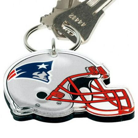 Helmet Logo Keychain - New England Patriots WinCraft High-Definition Helmet Logo Keychain - No Size