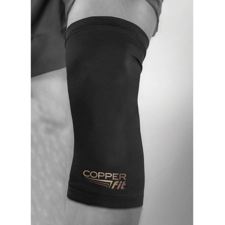 Copper Fit Compression Knee Sleeve, Medium (Best Knee Compression Sleeve For Running)