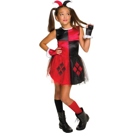 Harley Quinn Girls Tutu Dress Halloween Costume Walmartcom