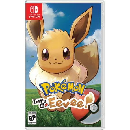 Pokemon: Lets Go Eevee! - Nintendo Switch