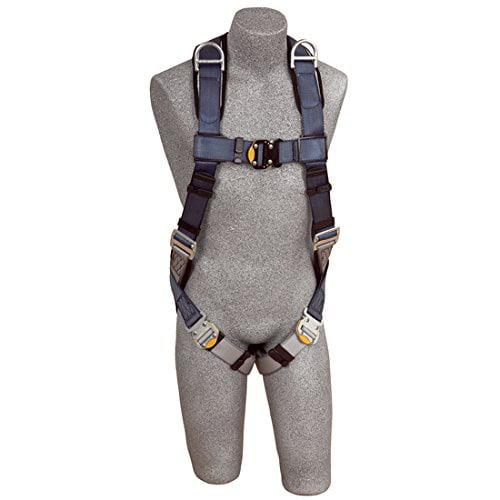 DBI-SALA Exofit Harness, Vest Style, Back