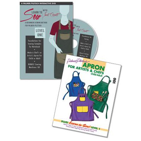 Learn to Sew with Janet Corzatt — Level ONE — Plus Apron Pattern : A Beginners Sewing Method for Palmer/Pletsch - Beginner Level