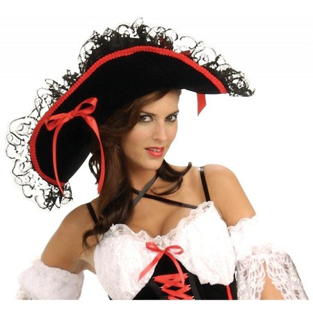 Pirate Hats For Women (Adult Pirate Queen of the Sea)