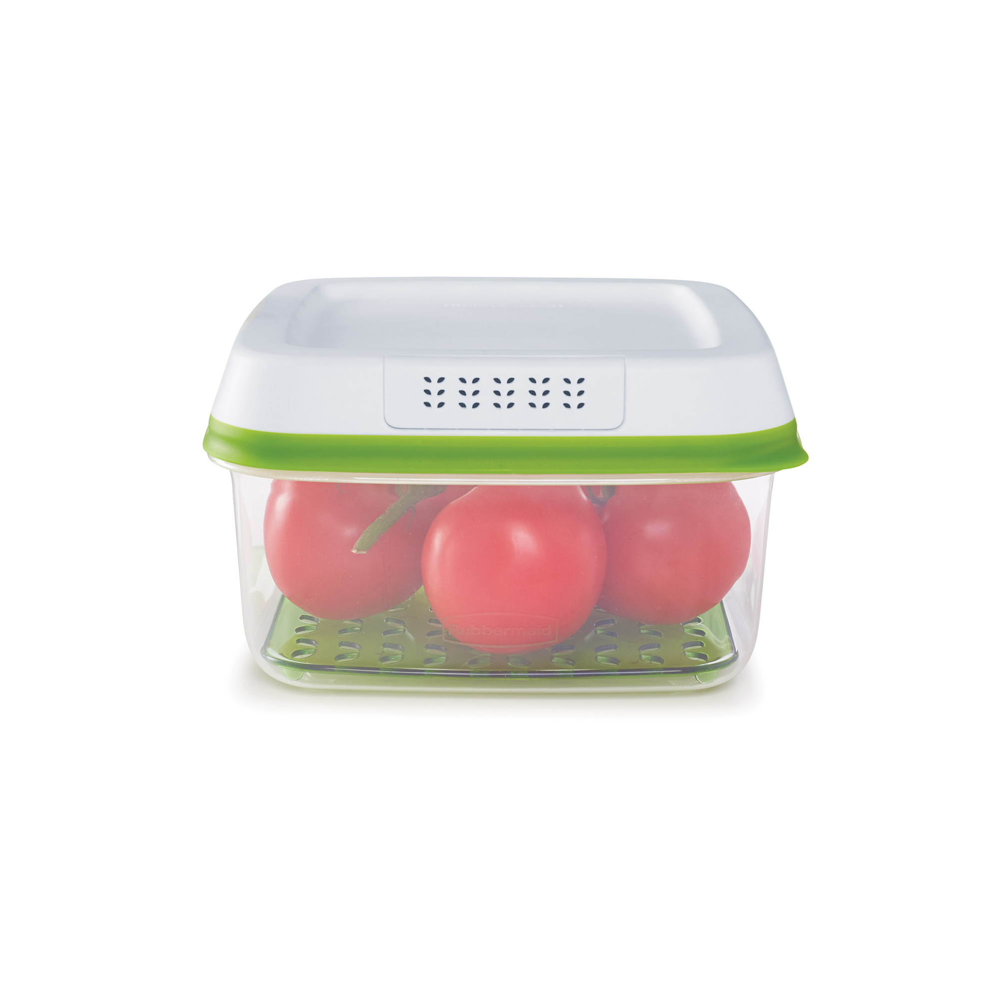 Rubbermaid FreshWorks Large Square Produce Saver, 11.1 Cup