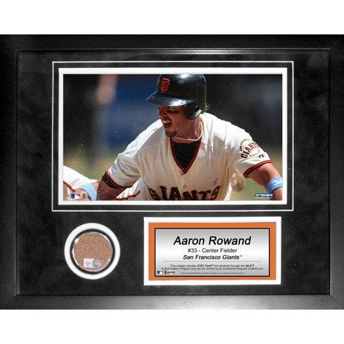 Steiner Sports MLB Aaron Rowand Mini Dirt Collage