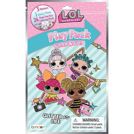 Party Favors - LOL Surprise - Grab and Go Play Pack - - Play Pack Grab And Go