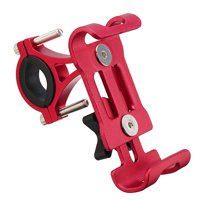 Aluminum Bicycle MTB Bike Motorcycle Handlebar Phone Holder Mount for iPhone Xs/XS MAX/XR/X/8/8 Plus, for Samsung Galaxy Note 8 S10/S9/S8/S8 Plus/S7 Edge, for HUAWEI
