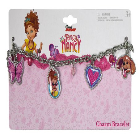 Disney Fancy Nancy Metallic Charm Bracelets Girls Dress-Up Toys & Games (4 Pcs)](Male Disney Characters To Dress Up As)