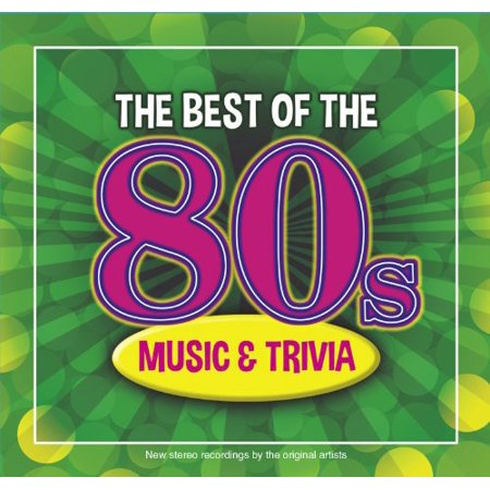 The Best Of The 80s Music and Trivia (CD)