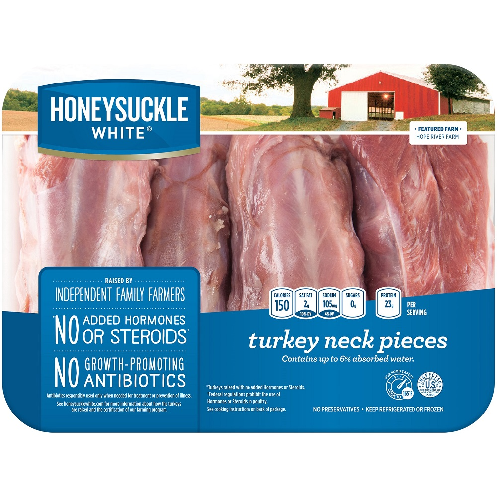 Honeysuckle White Fresh Turkey Necks, 2.0-2.5 lb