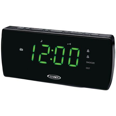 am fm dual alarm clock radio. Black Bedroom Furniture Sets. Home Design Ideas