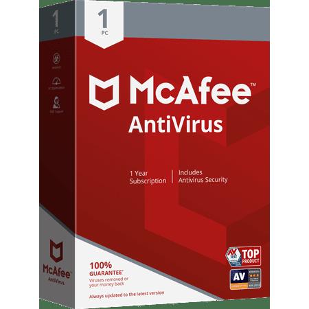 McAfee AntiVirus 1 PC
