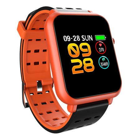 Bakeey Q8mini 1.2inch Dynamic HR Monitor Blood Pressure Long Standby Fitness Tracker Smart Watch for Android