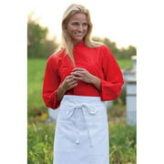 0975-5001 Epic 3/4 Sleeve Chef Shirt in Persimmon - XSmall