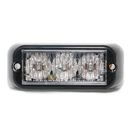 Abrams T3-B Led Grille Emergency Vehicle Warning Strobe Lights -