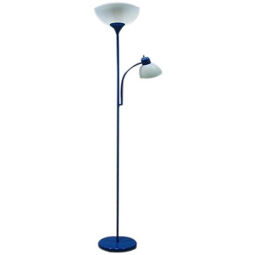 Mainstays combo floor lamp blue walmartcom for Mainstays 3 way floor lamp