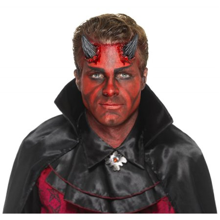 Realistic Devil Horn Prosthetic Adult Costume Appliance - Realistic Adult Costumes
