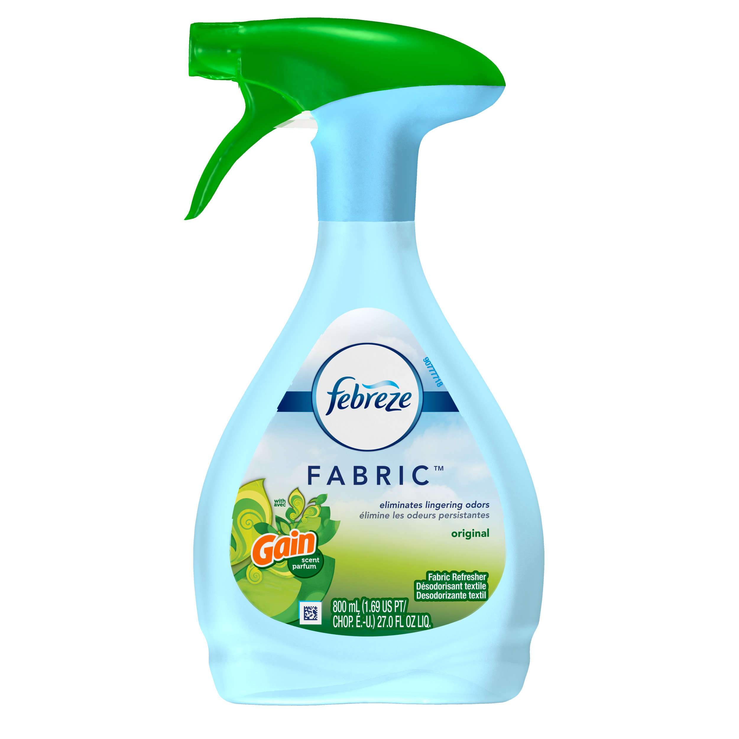 Febreze FABRIC Refresher with Gain, Original, 1 Count, 27 oz
