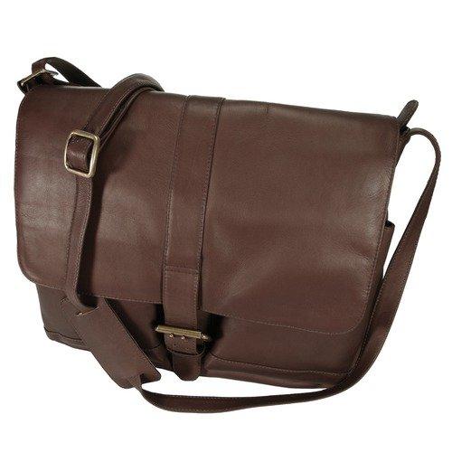 Latico Leathers Heritage Organizer Messenger Bag