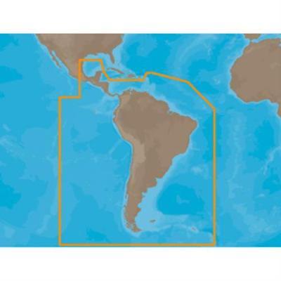 C-Map MAP SA-M504 - S. America Gulf & Caribbean - SD Card