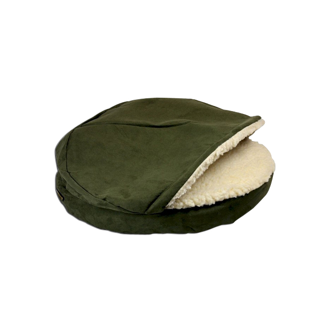 O'Donnell Industries 87673 Large Luxury Orthopedic Cozy Cave Pet Bed - Dark Chocolate
