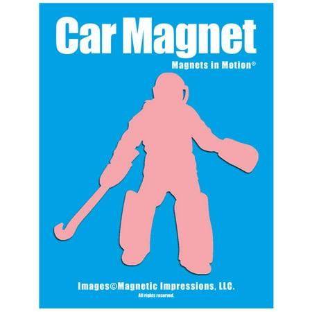 Field Hockey Goalie Car Magnet Pink Walmart Com