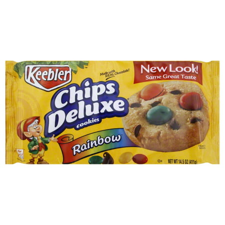 Keebler Chips Deluxe Rainbow Cookies, 14.5 Oz.