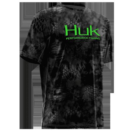 dc063bc6c0c Adidas - Huk Kryptek Icon Short Sleeve Kryptek Typhon-Neon Green L H1 -  Walmart.com