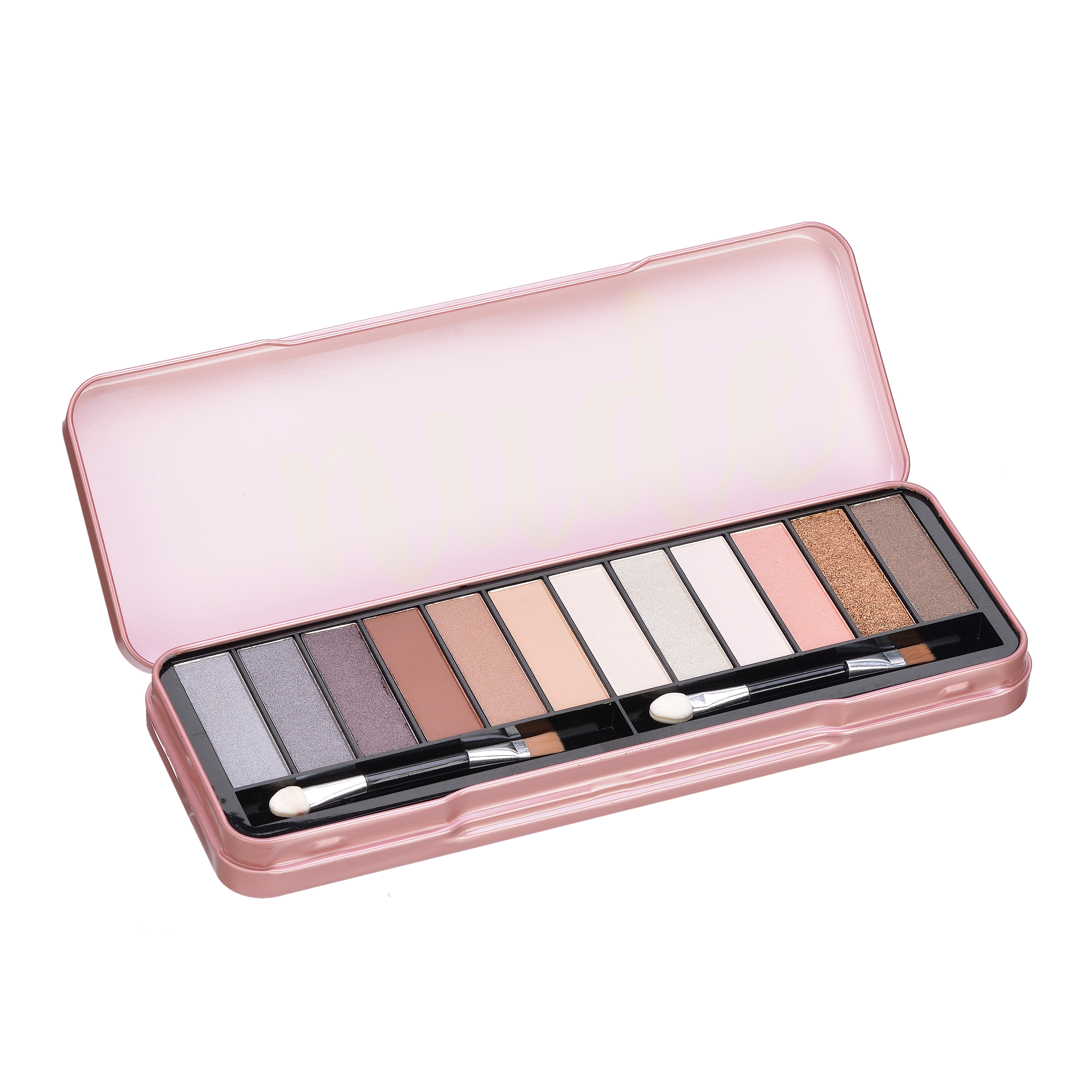 The Color Workshop Nude Eyes Eyeshadow Palette, 14 Pieces